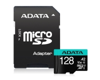 A-DATA UHS-I U3 MicroSDHC 128GB V30S class 10 + adapter AUSDX128GUI3V30SA2-RA1