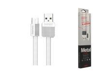 REMAX RC-044m white 1m micro-USB Platinum Data kabl
