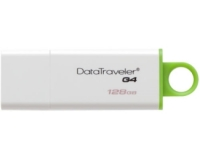 KINGSTON 128GB DataTraveler I Generation 4 USB 3.0 flash DTIG4/128GB zeleno-beli