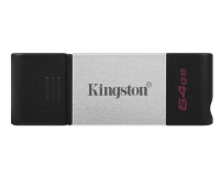 KINGSTON 64GB DataTraveler 80 USB-C 3.2 flash DT80/64GB