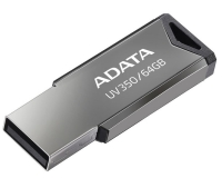 A-DATA 64GB 3.1 AUV350-64G-RBK crni