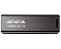 A-DATA 64GB 2.0 AUV260-64G-RBK crni